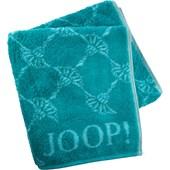 JOOP! - Cornflower - Handdoek turquoise