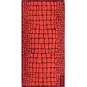 Joop - Gala - Croco Poppy hand towel