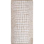 Joop - Gala - Croco Stone hand towel