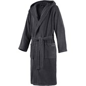JOOP! - Men - Anthracite Bathrobe with Hood