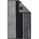 JOOP! - Lines - Guest towel Black