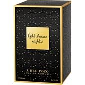 Jesus del Pozo - The Nights Collection - Gold Amber Nights Eau de Parfum Spray