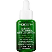 Kiehl's - Sérums et concentrés - Cannabis Sativa Seed Oil Herbal Concentrate