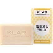 Klar Seifen - Seifen - Festes Shampoo Muskat & Vanille