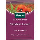 """Kneipp - Bath salts - Bath Crystals """"Glückliche Auszeit"""" Happy down-time"""