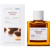 Korres - Collection - Mountain Pepper Eau de Toilette Spray
