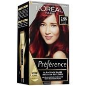 L'Oréal Paris - Préférence - 3.66 Intensives Dunkelrot