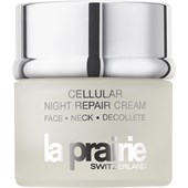 La Prairie - Fuktvård - Cellular Night Repair Cream Face Neck Decollete