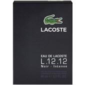 Lacoste - L.12.12 Homme - Noir Eau de Toilette Spray