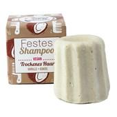 Lamazuna - Haarpflege - Trockenes Haar Festes Shampoo Vanille Kokos