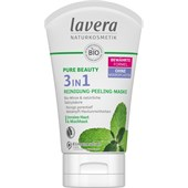 Lavera - Reinigung - Pure Beauty 3in1 Reinigung Peeling Maske
