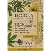 Logona - Shampoo - Festes Shampoo Hanf & Holunder
