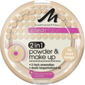 Manhattan - Rostro - Clearface 2in1 Powder & Make Up