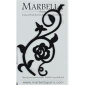 Marbella Body Jewels - French Tattoo - Rosas