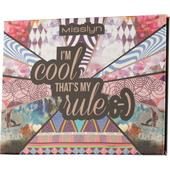 Misslyn - Lidschatten - I'm Cool That's My Rule Beauty Booklet