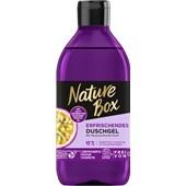 Nature Box - Duschpflege - Erfrischend Mit Passionsfrucht-Öl Mit Passionsfrucht-Duft Duschgel