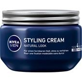 Nivea - Haarpflege - Nivea Men Styling Cream Natural Look