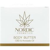 Nordic Cosmetics - Body care - CBD & Avocado Oil Body Butter