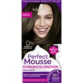 Perfect Mousse - Coloration - 4-0/400 Dunkelbraun Stufe 3 Perfect Mousse Schaum-Coloration