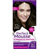 Perfect Mousse - Coloration - 4-13/413 Dunkles Aschbraun Stufe 3 Perfect Mousse Schaum-Coloration