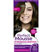 Perfect Mousse - Coloration - 5-0/500 Mittelbraun Stufe 3 Perfect Mousse Schaum-Coloration