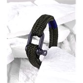Pig & Hen - Rope Bracelets - Army | Black Gorgeous George