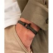 Pig & Hen - Rope Bracelets - Army | Black Vicious Vik