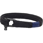Pig & Hen - Rope Bracelets - Black | Black Sharp Simon