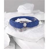 Pig & Hen - Rope Bracelets - Violet Blue | Silver Sharp Simon