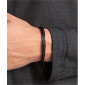 Pig & Hen - Cuff Bracelets - Black | Black Navarch 6 mm