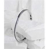 Pig & Hen - Cuff Bracelets - Navy | Silver Navarch 4 mm