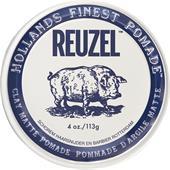Reuzel - Haarstyling - Clay Matte Pomade Pig