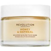 Revolution Skincare - Masks - Honey & Oatmeal Nourish & Glow Face Mask