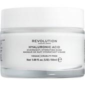 Revolution Skincare - Masken - Hyaluronic Acid Overnight Hydrating Mask
