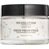 Revolution Skincare - Masken - Jake-Jamie Feed Your Face Dragon Fruit Face Mask