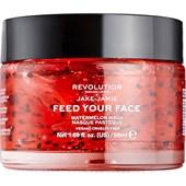 Revolution Skincare - Masken - Jake-Jamie Feed Your Face Watermelon Mask