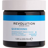 Revolution Skincare - Masken - Quenching Overnight Face Mask
