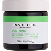 Revolution Skincare - Masken - Soothing Overnight Face Mask