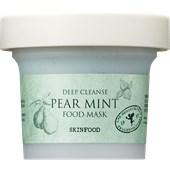 SKINFOOD - Reinigung - Deep Cleanse Pear Mint Mask