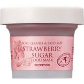 SKINFOOD - Reinigung - Pore Cleanse & Exfoliate Strawberry Sugar Mask