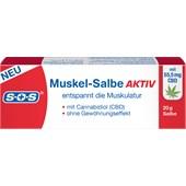 SOS - Schmerz- & Wärmetherapie - Muskel-Salbe Aktiv