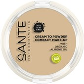Sante Naturkosmetik - Foundation & Puder - Compact Make-Up