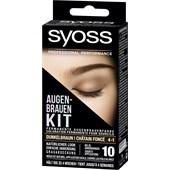 Syoss - Augenbrauen Color - 4-1 Dunkelbraun Stufe 3 Augenbrauen Kit