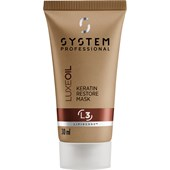System Professional Energy Code - Luxe Oil - Keratin Restore Mask L3