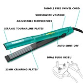 TONI&GUY - Straightener - !HELLO DAY! Secret Volumising Crimper