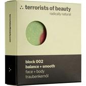 Terrorists of Beauty - Soaps - Block Balance + Smooth