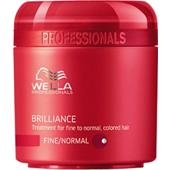 Wella - Brilliance - Brilliance Mask for Delicate to Normal, Coloured Hair