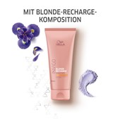Wella - Color Recharge - Blond Recharge Color Refreshing Conditioner Warm Blonde
