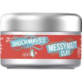 Wella Shockwaves - Styling - Messy Matt Clay