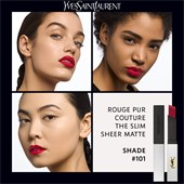 Yves Saint Laurent - Lippen - The Slim Sheer Matte Rouge Pur Couture